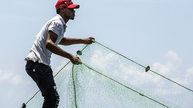 Pescadores de Boca del Soco en San Pedro de Macorís