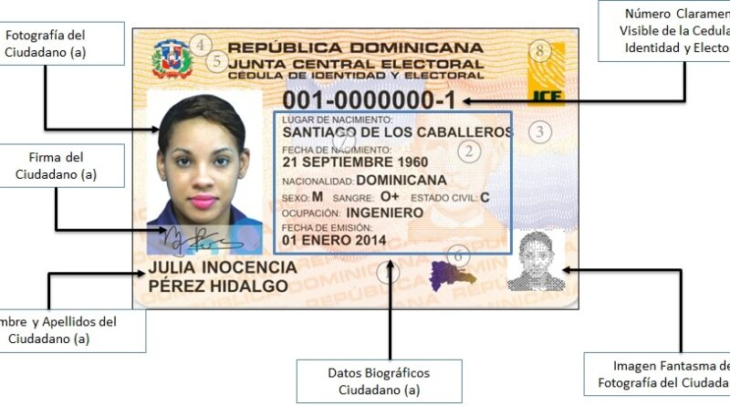 cedula dominicana
